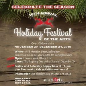 Bellingham, Holiday Arts Markets, Allied Arts