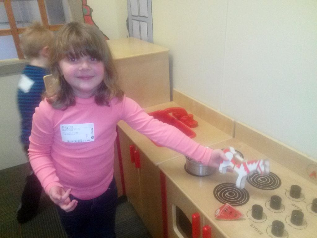 Kitchen time at Perch & Play, Bellingham