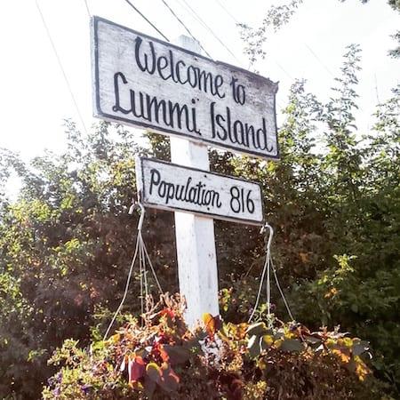 welcome to lummi island