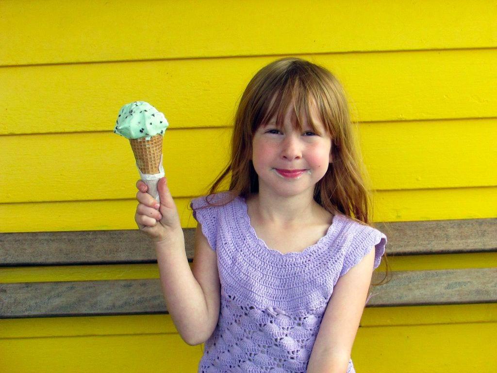 Ice cream at The C Shop.