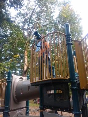 Playground, Whatcom Falls Park, Bellingham