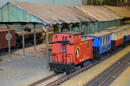 G Gauge caboose, Belligham Railway Museum