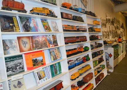 trains and collectibles, Bellingham Railway Museum