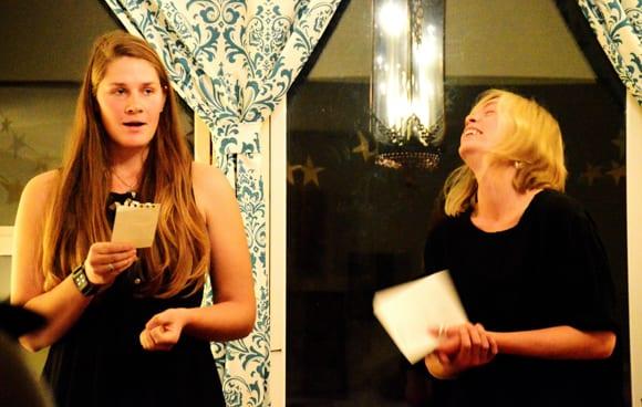 Natalie Fedak Erica Reed Gary Wade Kitchen Session Poem Store Bellingham Whatcom poetry