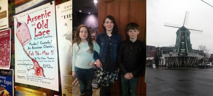 Experiencing the theater in Lynden, WA, with kids