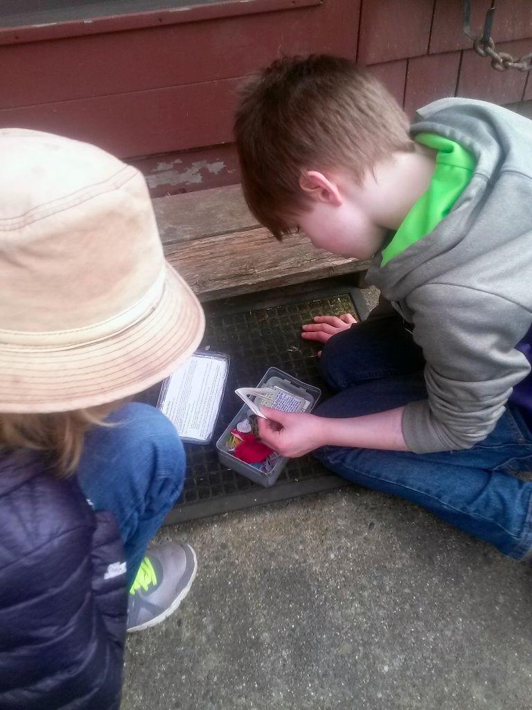 Find a geocache near downtown Bellingham, WA