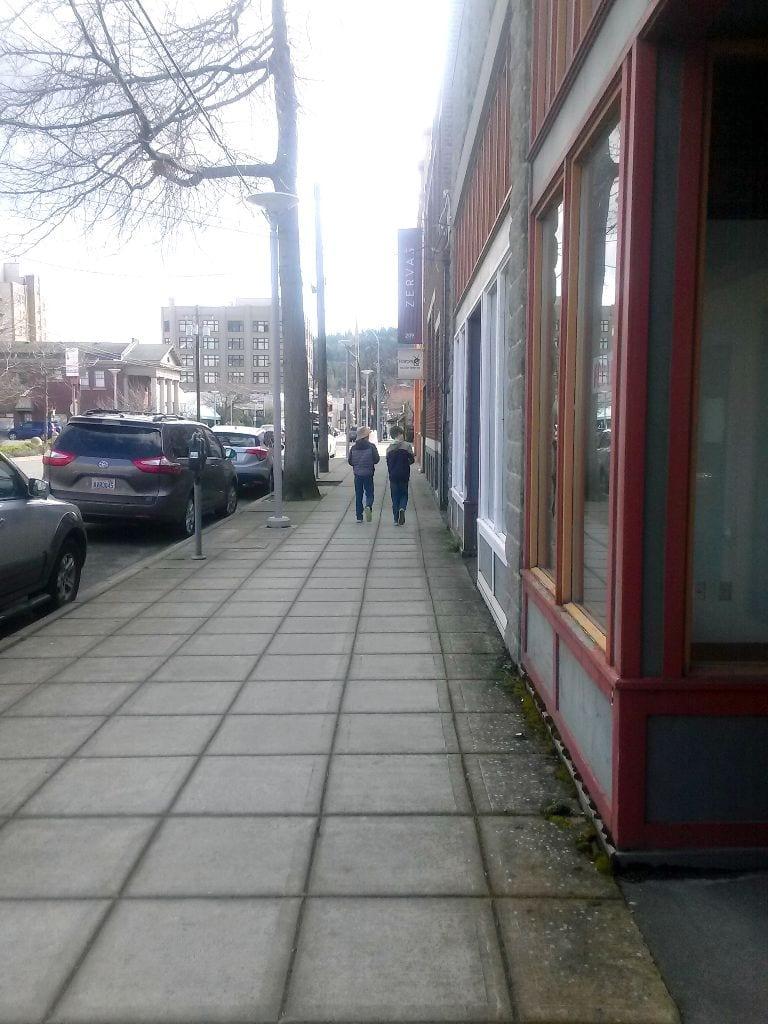 Urban adventure with kids, downtown Bellingham