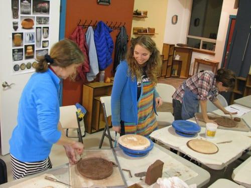 Ann Marie Cooper pottery Good Earth Baker Creek Bellingham Whatcom Fairhaven tourism crafts
