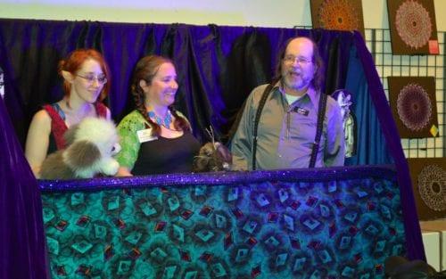 Puppet Show at Allied Arts, Downtown Bellingham Art Walk
