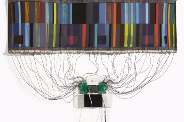 Western Gallery Coded Threads art Whatcom Bellingham University Washington