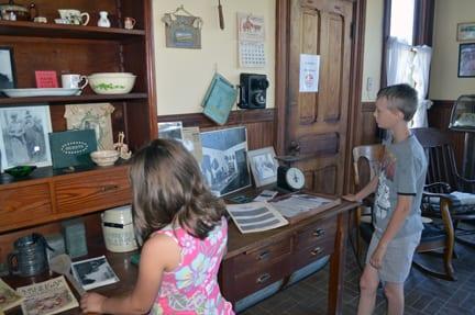Exploring the Hovander House, Ferndale