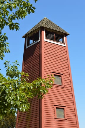 Lookout tower, Hovander Homestead, Ferndale
