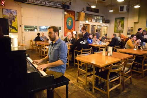 Aaron Guest Boundary Bay Brewery Kenneth Kearney Photography