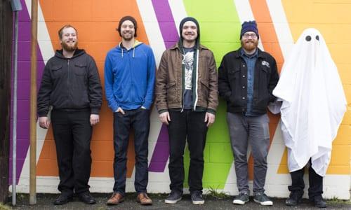 Local Ghost musicians Bellingham