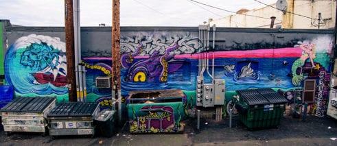 Cap Hansens Shawn Cass street art graffiti Bellingham Whatcom