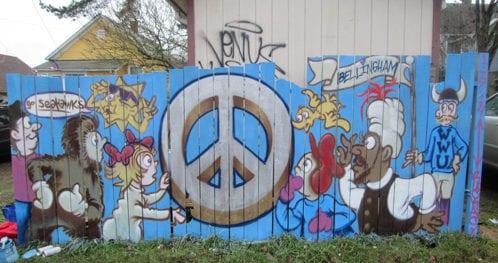 Alamo Apartments Shawn Cass street art graffiti Bellingham Whatcom