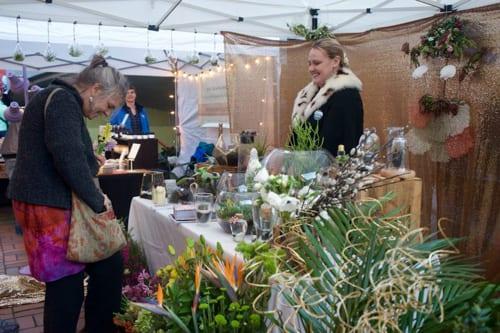 pozie by natalie ransom florist commercial street night market downtown bellingham partnership whatcom tourism