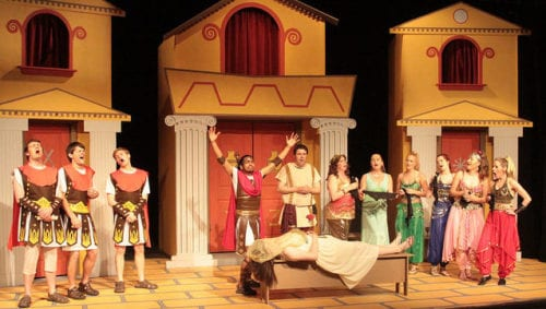 Funny Thing Happened on the way to the Forum Bellingham Theatre Guild David Cohn Whatcom theater