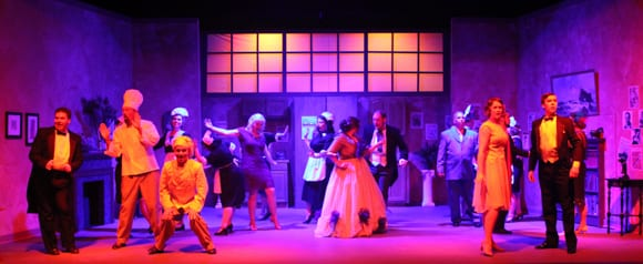 The Drowsy Chaperone, a parody of 1920's American Musical Comedy, was performed at BTG in 2015. Photo by David S. Cohn.