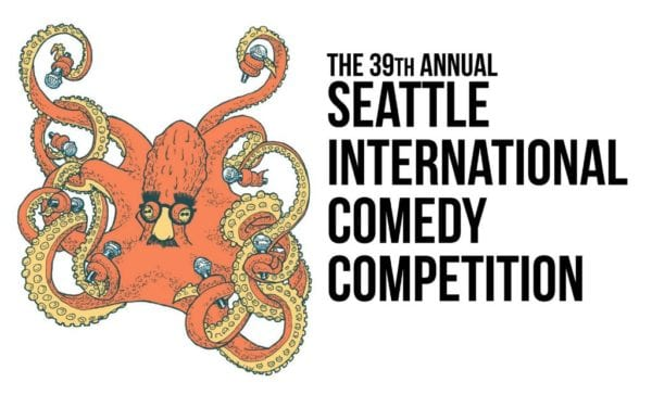 Logo for Seattle International Comedy Competition
