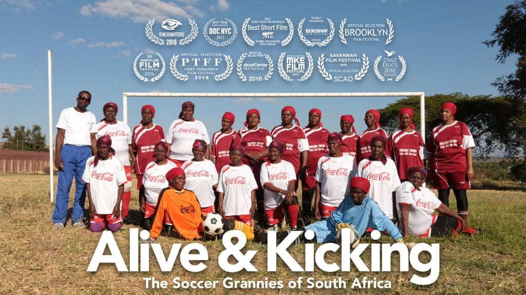 Alive and Kicking Soccer Grannies film human rights