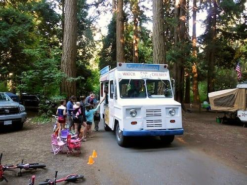 Birch Bay Campground Ice Cream Truck 1