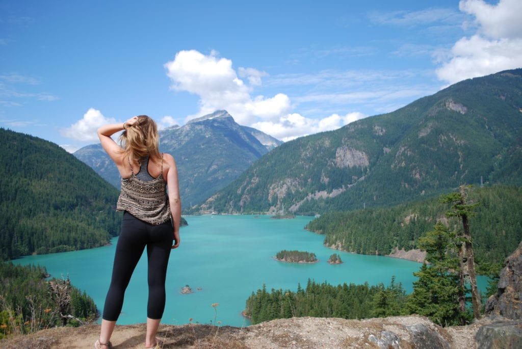 Diablo Lake North Cascades National Forest Whatcom County