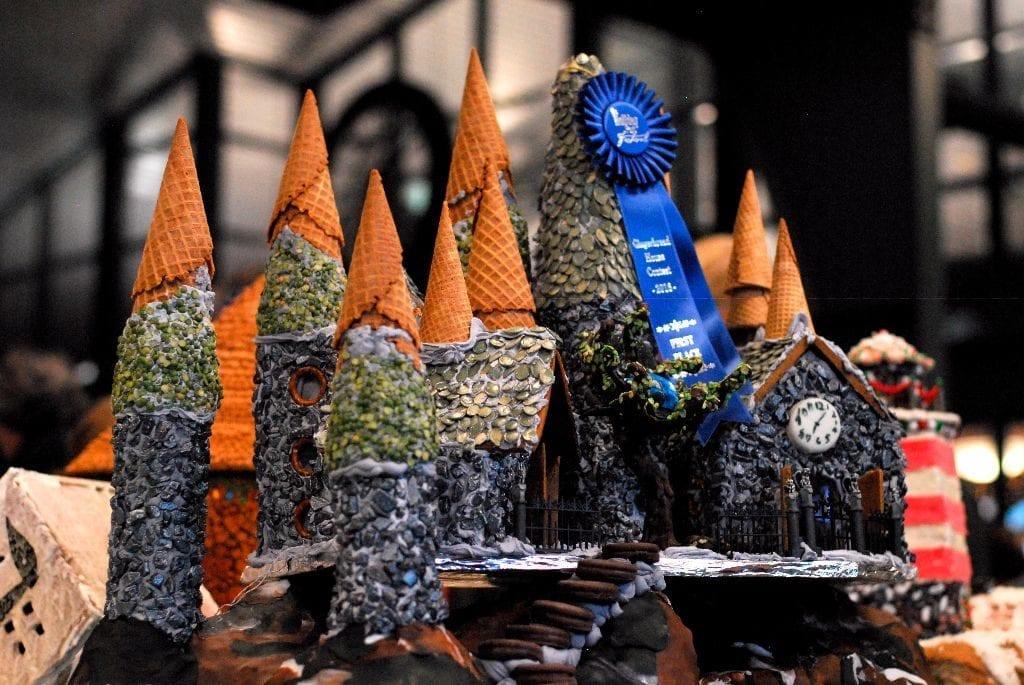 Gingerbread House Bellingham Holiday Port Festival Winner 1