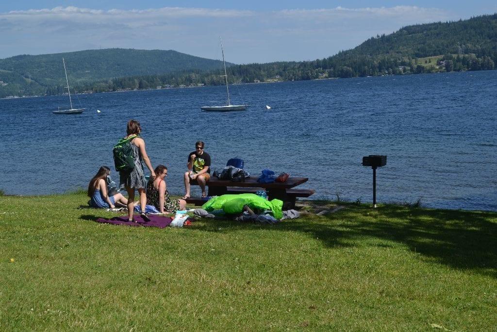 Lake Whatcom Bellingham Lakewood Boating Center