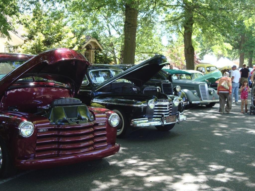 Northwest Raspberry Festival Car Show