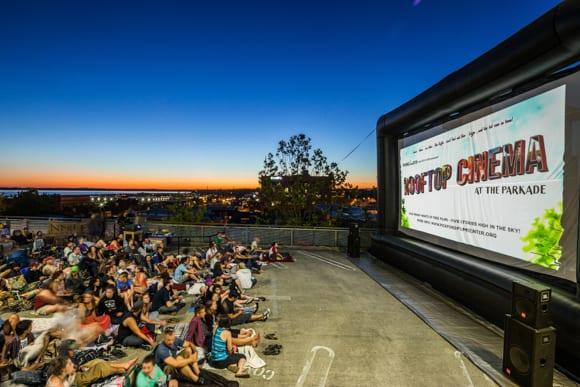 Pickford Rooftop Cinema Downtown Bellingham