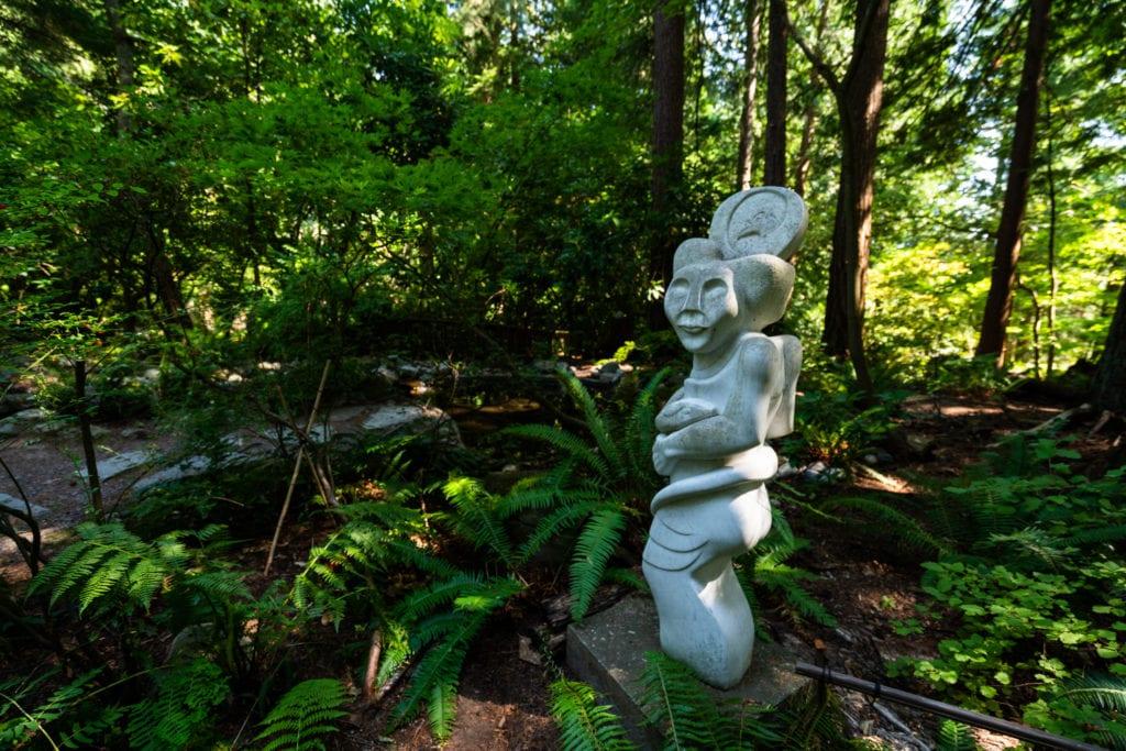 Big Rock Sculpture Garden Bellingham 6 1