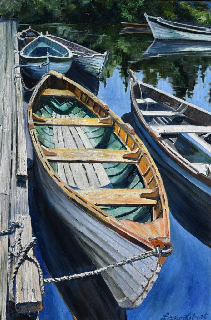 Lorna Libert Wooden Boats Ized