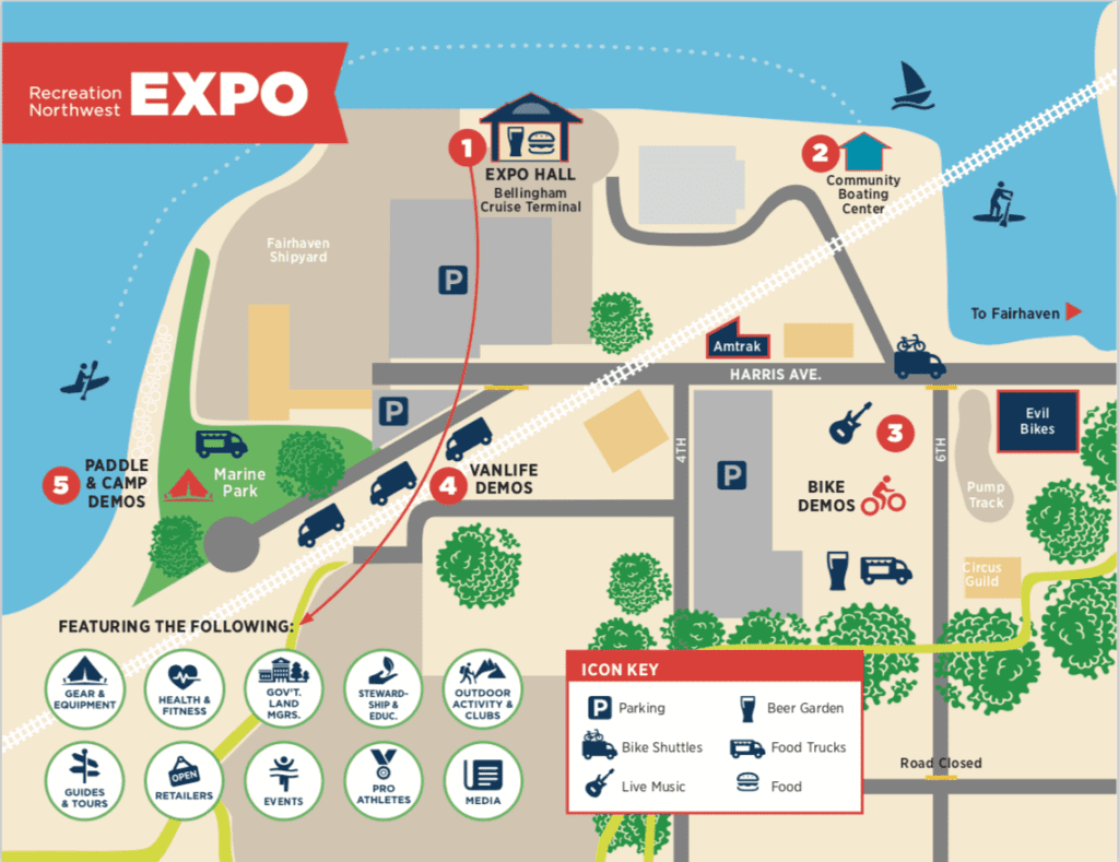 2020 Recreation Northwest Expo To Expand Outdoors To Marine Park And Evil Bikes In Fairhaven
