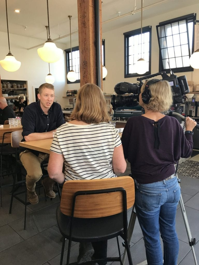 King5 Evening News Camber Coffee Downtown Bellingham (2)