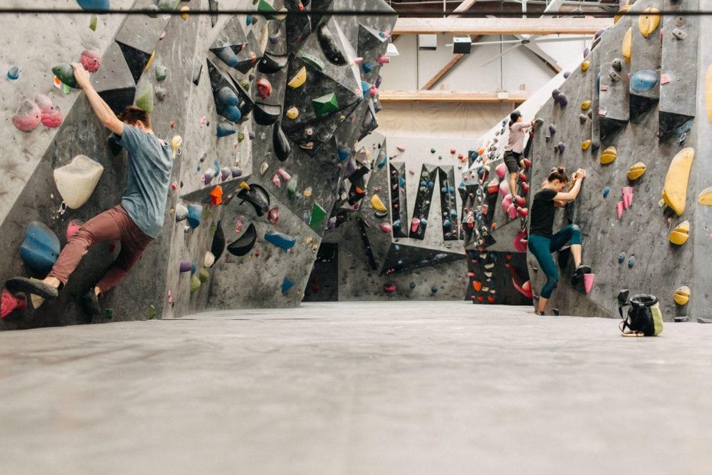 Vital Climbing Gym Downtown Bellingham Whatcom County