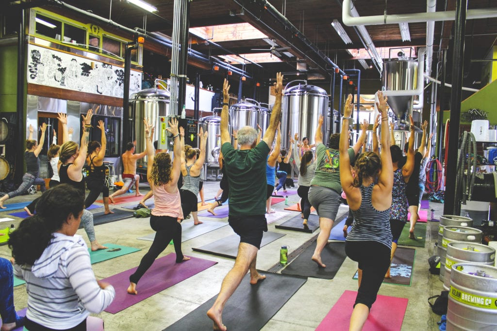 Yoga At Aslan Brewery