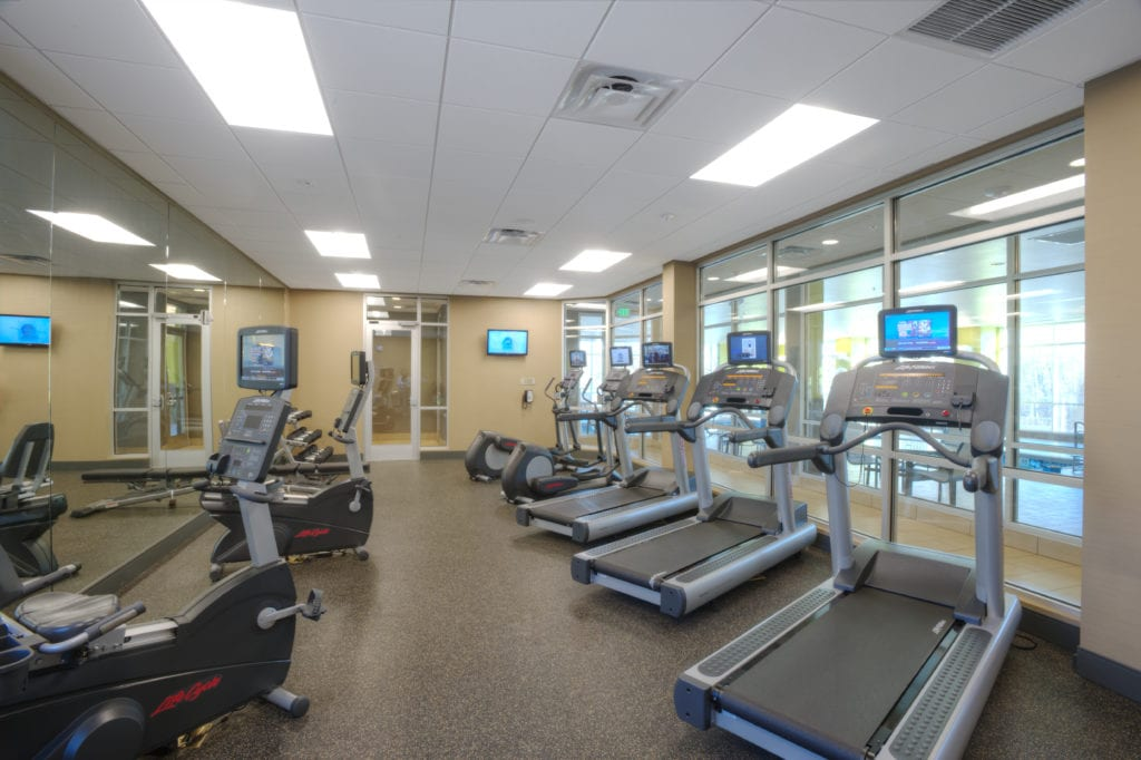 Fitness Center Springhill Suites