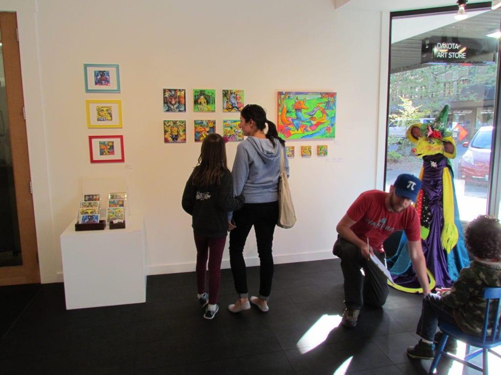 Allied Arts Downtown Bellingham Art Walk (5)