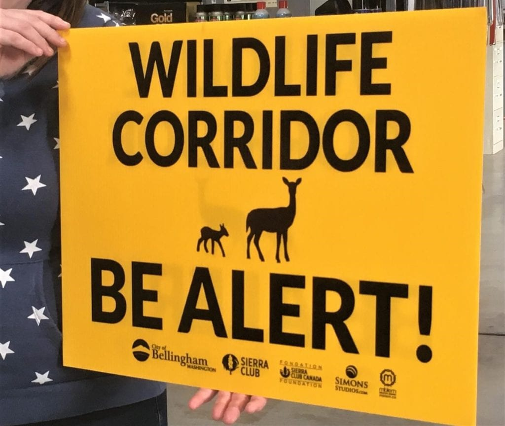 Watch For Wildlife Crossing