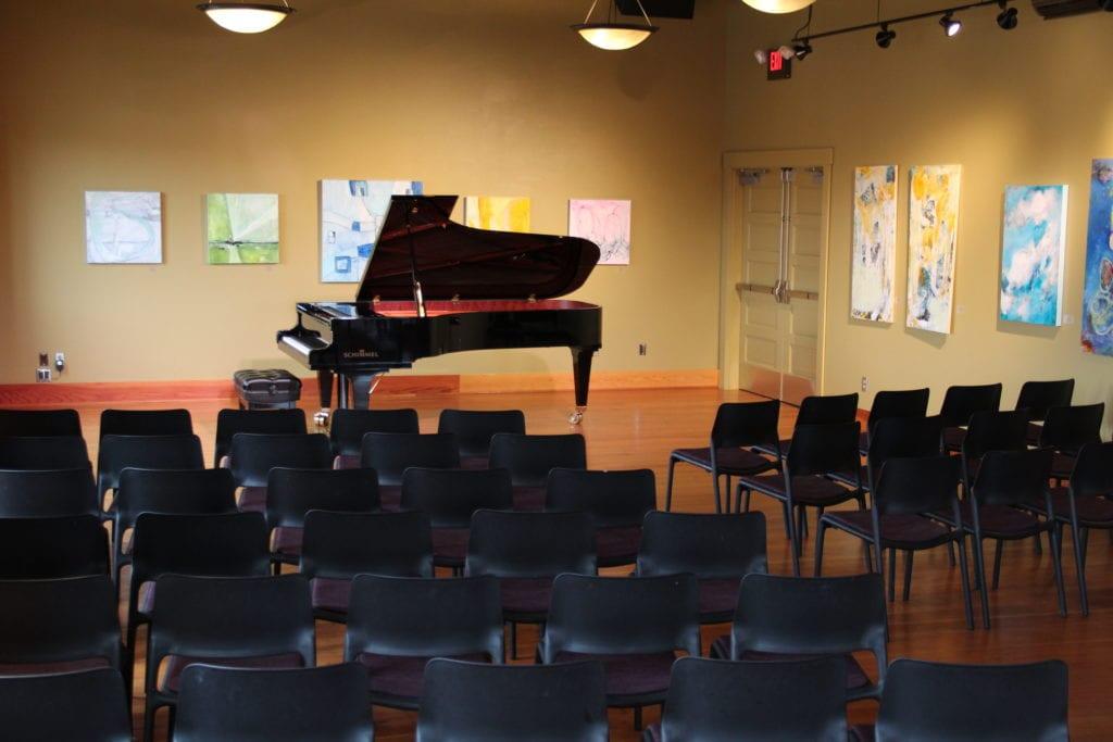 Photo Jansen Art Center Piano Concert Empty