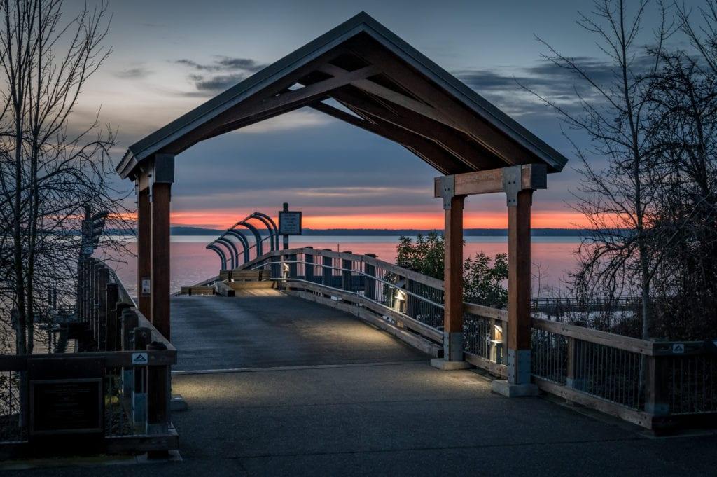 Taylor Dock Boulevard Park Bellingham Washington Whatcom County