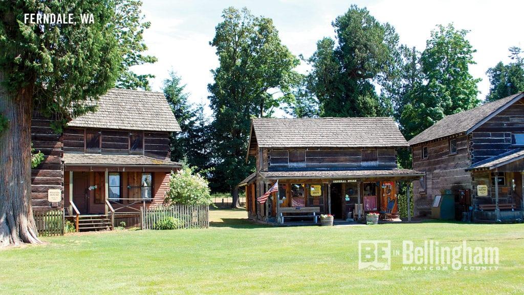 Pioneer Park Cabins In Ferndale