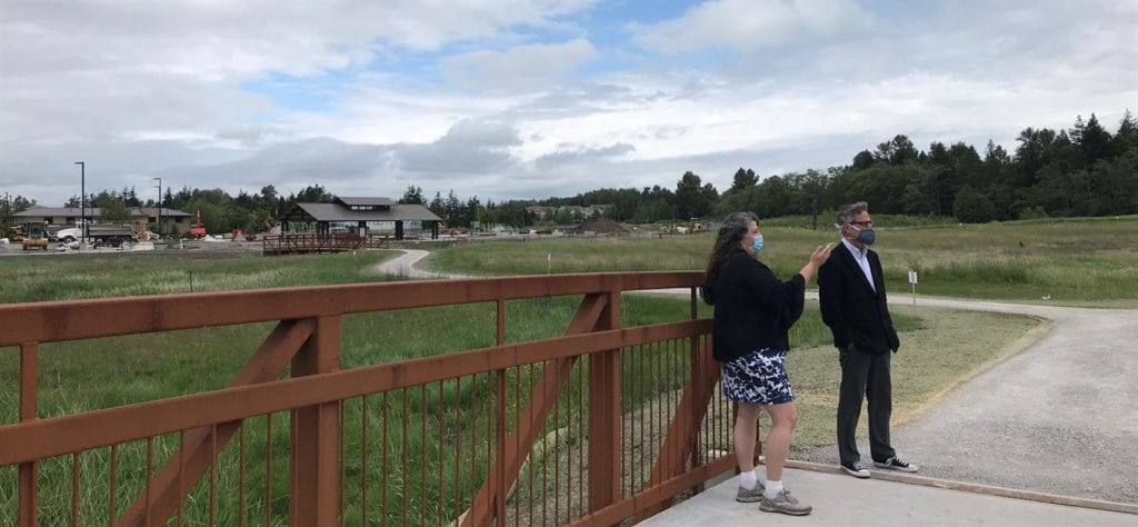 Trails At New Cordata Park Now Open For Public Use Photo By Nicole Oliver