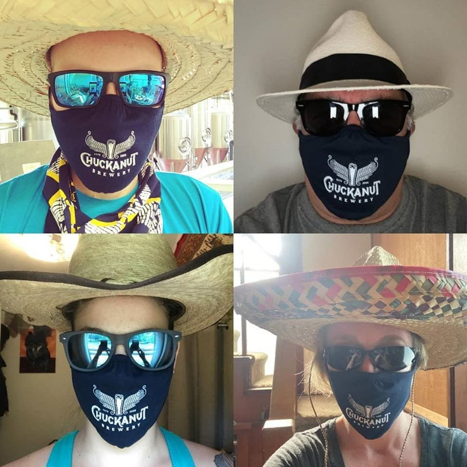 Chuckanut Brewery Mask