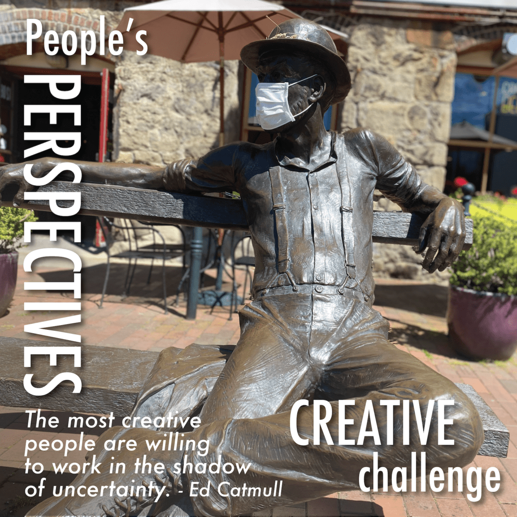 People's Perspective Creative Challenge Instagram Post 4