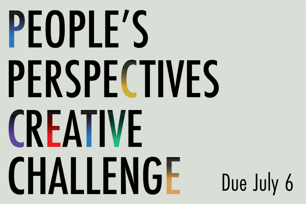 People's Perspectives Creative Challenge Facebook Post 1