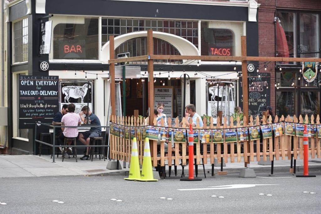 Restaurants Outdoordining Black Sheep