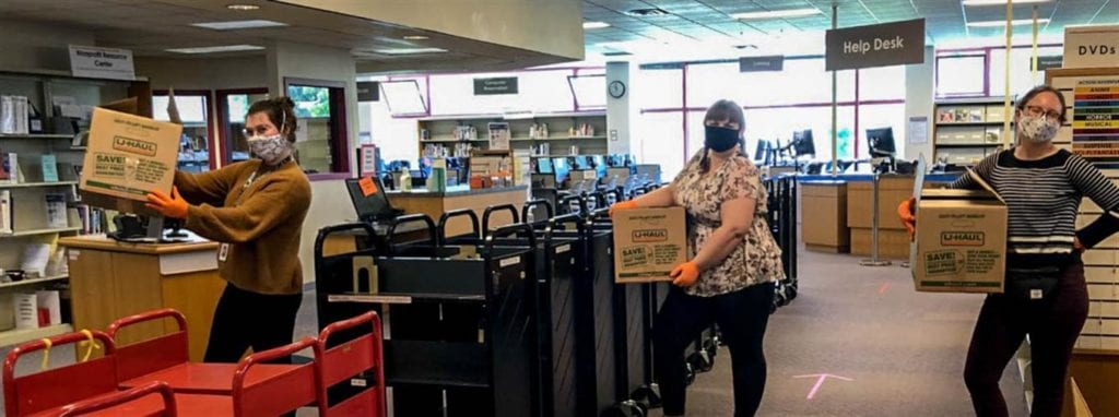 Whatcom County Library Library Invites Book Returns, Prepares For Curbside Service To Begin June 15
