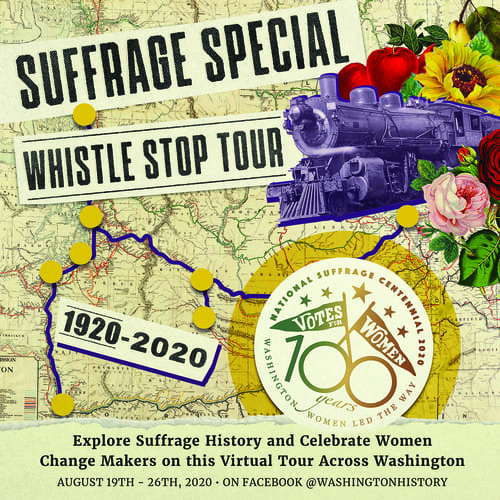 The Suffrage Special Whistle Stop Tour Schedule Washington State, Whatcom Museum
